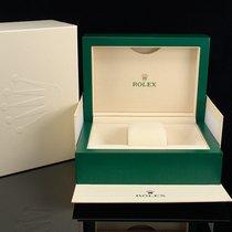 Rolex Box Uhrenbox mit Umkarton & Schuber (mittlere Größe)...
