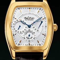 Paul Picot MAJESTIC POWER RESERVE Yellow Gold-Silver Guilloché...