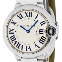 Cartier W6920087 Ballon Bleu 36mm Silver Dial Women WHT...