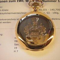IWC Antimagnetic Savonnette in 14k Gold, sehr selten.