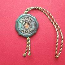 Rolex Chronometer-Siegel grün helle Kordel mit Buchstaben und...