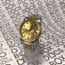 Rolex Gents DateJust Factory Diamond Dial