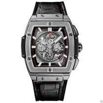 Hublot Spirit Of Big Bang Chronograph 601.nx.0173.lr Titanium NEW