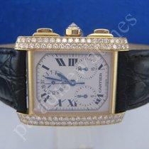 Cartier Tank Francaise Chrono in 18 K GG Cartier Diam....