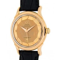 Omega Constellation Pie Pan Solid Gold 2652sc, 35mm