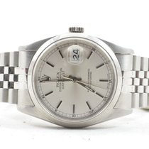 Rolex Oyster Perpetual Datejust 16200 Stahl/stahl Top Zustand...