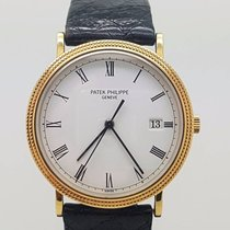 Patek Philippe 18K Calatrava Quartz Men Watch Ref 3944