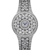 Graff Classic Butterfly White Gold Diamonds Ladies Watch