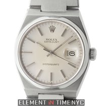 Rolex Datejust Oysterquartz Stainless Steel Silver Dial 36mm 1981
