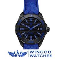 TAG Heuer Aquaracer 300 Calibro 5 Titanio Cinturino Blu Ref....