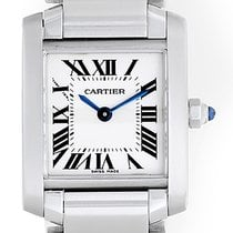 カルティエ (Cartier) Tank Francaise Ladies Steel Watch W51008Q3