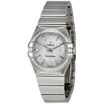 Omega 12315276005002 Constellation Diamonds Ladies Watch