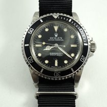 Rolex 5513 Submariner stainless steel 5512 caseback c.1985