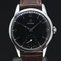 Omega Handaufzug Black Dial cal.269 anno 1961