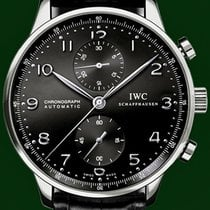IWC Portuguese 41mm Automatic Chronograph Black Dial