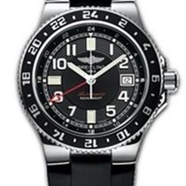 Breitling SuperOcean GMT Automatic Wristwatch 500 m W.R. SWISS...