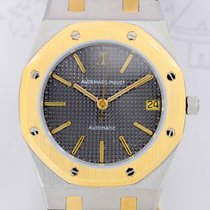Audemars Piguet Royal Oak Stahl Gold 36 mm grey Clou de Paris...