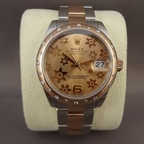 Rolex Lady-Datejust 178341 steel/pink gold diamond / 31mm