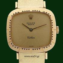 Ρολεξ (Rolex) Cellini Lady 4082 Manual winding 18k Yellow Gold