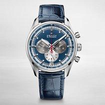 Zenith CHRONOMASTER  EL PRIMERO Steel-Blue Sunray Dial 032040400