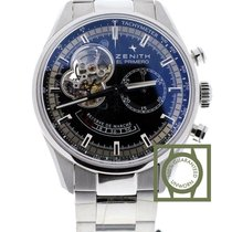 Zenith El Primero Chronomaster power reserve 42 steel bracelet