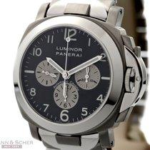 Panerai Luminor Chronograph PAM0052 Titanium/Stainless Steel...