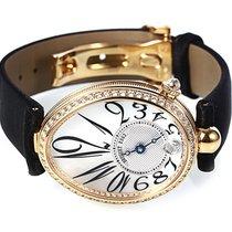 Breguet Reine De Naples 8918 Black Strap Diamonds 8918BA58864D00D