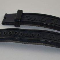 Breitling Kautschuk Armband Band 18mm 18-17 Für Dornschliesse...