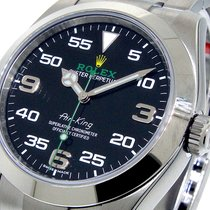 Rolex 116900 Air-king 40 Mm Steel Black Dial Oyster Perpetual...