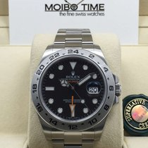 Rolex 216570 Explorer II Black 42mm [NEW]