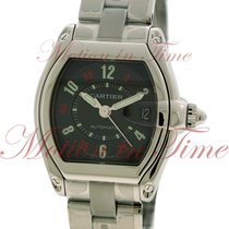 Cartier Roadster Large Automatic, Black Vegas Dial - Stainless...
