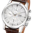 Oris Artelier Chronograph Automatic Herrenuhr Leder 07 5 23 70FC