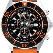 Chris Benz Depthmeter Chronograph 300m CB-C300-O-KBO Herrenchr...