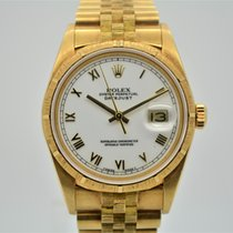 Rolex Datejust Yellow Gold Bark Finished