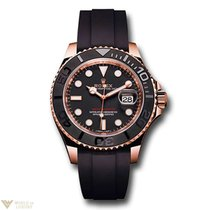 Rolex Oyster Perpetual Yacht-Master 18K Everose Gold Men's...