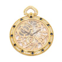 Audemars Piguet Diamond and Sapphire Pocket Watch