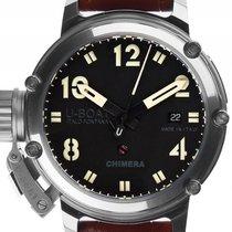 U-Boat Italo Fontana Chimera Stahl Automatik Armband Leder...