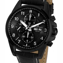 Jacques Lemans 1-1750C Liverpool Chronograph Herren 44mm 10ATM