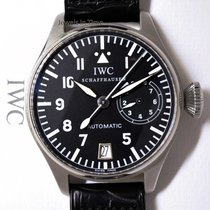 IWC Big Pilot 1st Edition 7 Day Power Reserve Steel 46mm Watch...