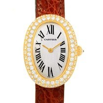 Cartier Baignoire 18k Yellow Gold Diamond Ladies Watch 1954