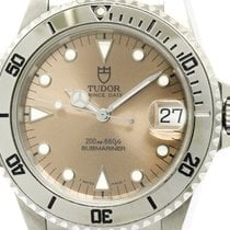 Tudor Polished  Rolex Submariner 75190 Steel Automatic Mens...
