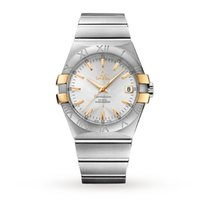 Omega Constellation Bi Colour Mens Watch 123.20.35.20.02.004