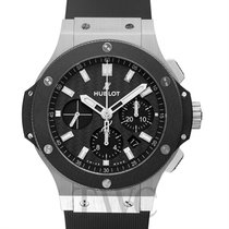 Hublot Big Bang Steel Ceramic Black Carbon/Rubber 44mm -...