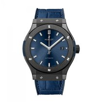 Hublot Classic Fusion  Blue Ceramic Mens WATCH 542.CM.7170.LR