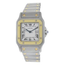 Cartier Men's Unisex Cartier Santos Galbee Steel Gold 29MM...