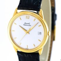 Piaget Gentlemans Watch Ref- 15988 18k Yellow Gold, Enamel...