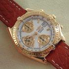 Breitling Chronomat 39 mm, 18 Kt. Gelbgold, Full Set, Top-Zustand
