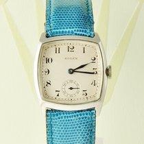 Rolex Oyster Vintage 925 Silber Handaufzug ´20 Jahre