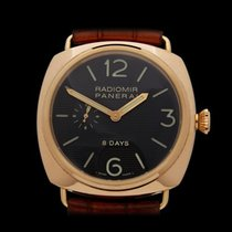Panerai Radiomir 18k Rose Gold Gents PAM00197