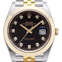 롤렉스 (Rolex) Datejust 41 Ref. 126303 Schwarz DIA Jubile-Band